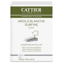 Arcilla Blanca Superfina 77 micras - 200g (Cattier)