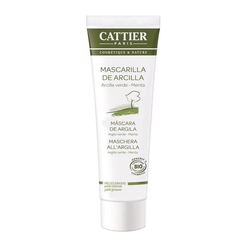 Baño De Arcilla Verde: Facial > Mascarillas > Mascarilla Arcilla Verde Cattier 100ml