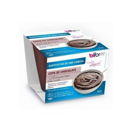 Copa Sustitutiva Chocolate - 210gr (Biform)