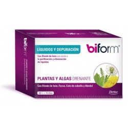 Plantas Y Algas Drenante 60 cápsulas (Biform)
