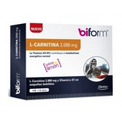 L-Carnitina - 2000mg 14 Viales (Biform)