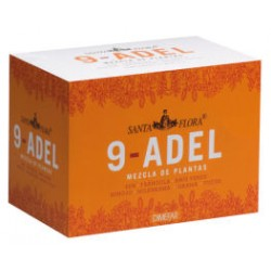 9 Adel Santa Flora Infusión Adelgazante - 20 sobres (Dimefar)