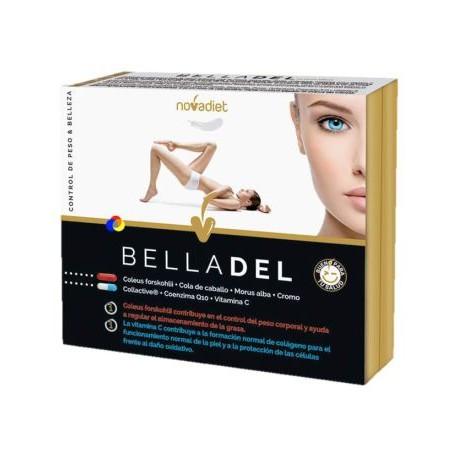 Belladel Control De Peso - 60 Cápsulas (NovaDiet)