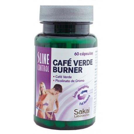 Sline Control Cafe Verde Burner - 60 Cápsulas (Sakai)