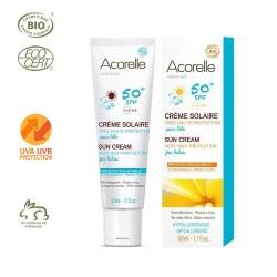 Crema Solar para Bebés desde 3 meses - 50ml (Acorelle)