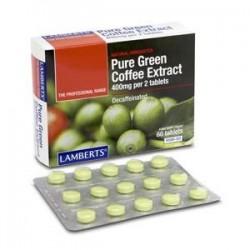 Cafe Verde Puro Comprimidos 400mg Lamberts