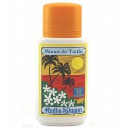 Monoï de Tahiti factor 15 - 150ml (Radhe Shyam)