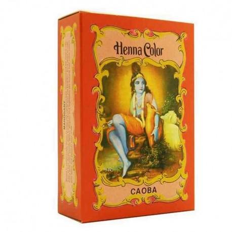 Henna polvo caoba