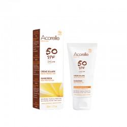 Crema solar facial SPF50 de 50 ml (ACORELLE)