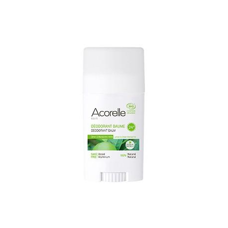El Desodorante Bálsamo Bio Limón y Mandarina Unisex Acorelle neutraliza los malos olores.