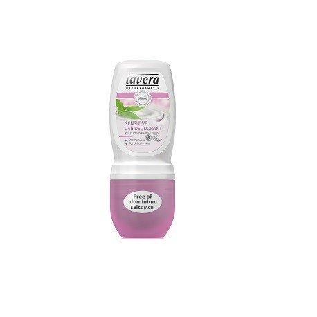 Desodorante Roll-on Sensitive - 50 ml. (Lavera)