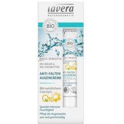 Contorno de Ojos Anti-Arrugas Q10 de Lavera - 15ml