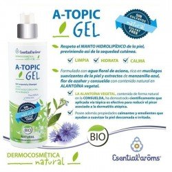 Gel y Champú A-topic natural 400 ml