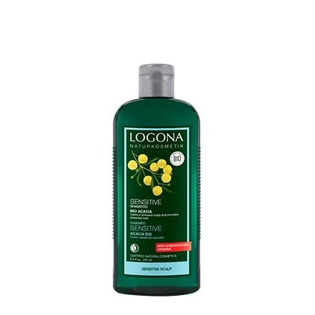 Champú sensitive de Acacia de Logona - 250 ml.