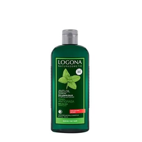 Champú antigrasa de Melisa de Logona - 250 ml