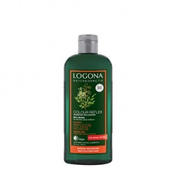 Champú Reflejo Rojizos Henna de Logona - 250 ml.