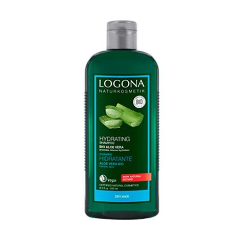 Champú Hidratante Aloe de Logona - 250 ml.