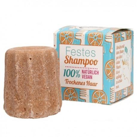 Champú sólido cabellos secos Vainilla y Coco - 55 gr Lamazuna