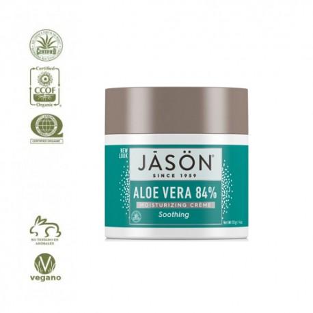 Crema Facial Hidratante Aloe Vera 84% 113gr (Jason)
