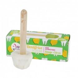 Pasta de dientes sólida de limón y salvia - 17 gr Lamazuna