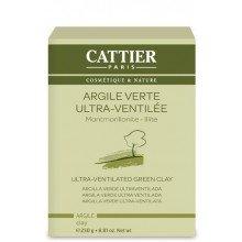 Arcilla Verde Ultraventilada 20μm - 250 gr (Cattier)