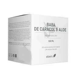 Crema Baba Caracol y Aloe de Botanical Nutrients de 100ml