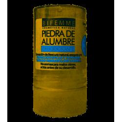 Desodorante piedra de alumbre - 120gr (Ynsadiet)
