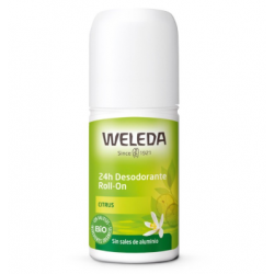 Desodorante roll-on Citrus -50ml (Weleda)