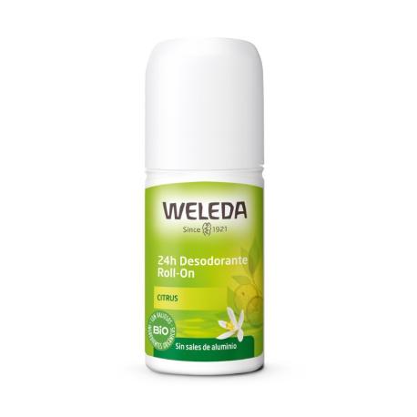 Desodorante roll-on Citrus -50ml (Weleda)