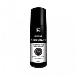 Desodorante Natural Roll-on Sin perfume -90ml. (Sidekick)