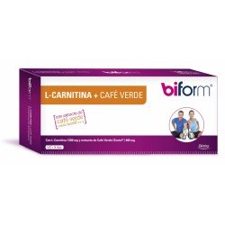 Biform L-Carnitina + Café Verde -400mg. (Dietisa)