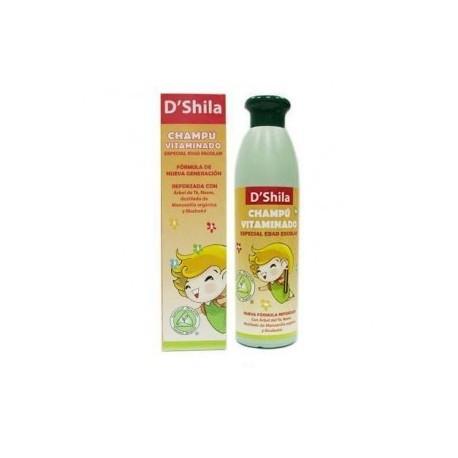CHAMPU vitaminado esp.escolar (parasitos) 250ml