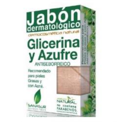 JABON GLICERINA azufre 100gr.