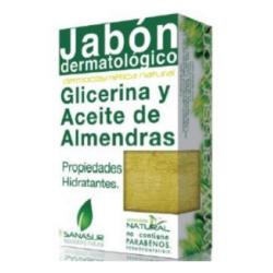 JABON GLICERINA aceite de almendras 100gr.
