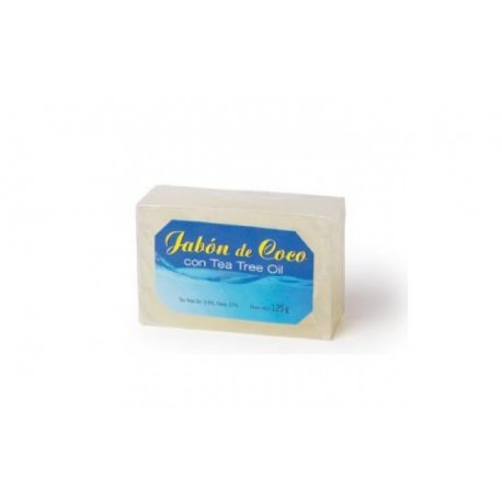 JABON PASTILLA COCO+TEA TREE OIL 100gr.