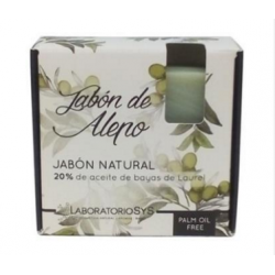 JABON NATURAL SYS PREMIUM alepo 20% PACK 5x80gr.