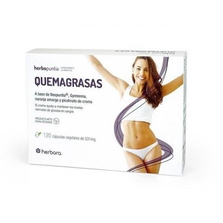 Herbopuntia Quemagrasas - 120 Cápsulas (Herbora)