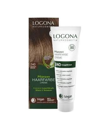 Crema colorante capilar nogal nº240 de 150ml (Logona)