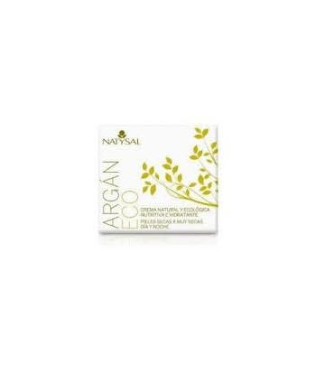 CREMA ARGAN ECO 50ML NATYSAL