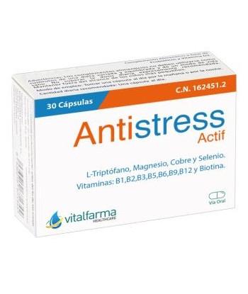 Antiestres 30 Caps Vitalfarma de Vitalfarma