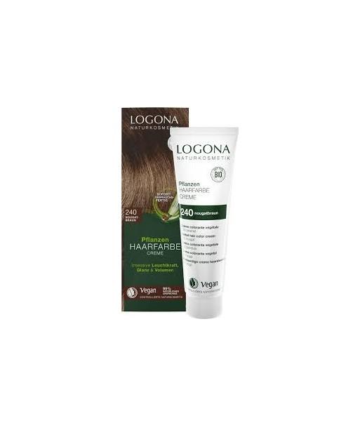 Crema colorante capilar rubio cobrizo nº200 de 150ml (Logona)