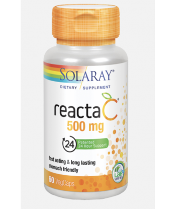 Reacta-C de 500mg de 60 cápsulas (Solaray)