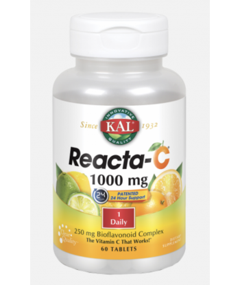 Reacta-C de 1000mg de 60 cápsulas (Solaray)