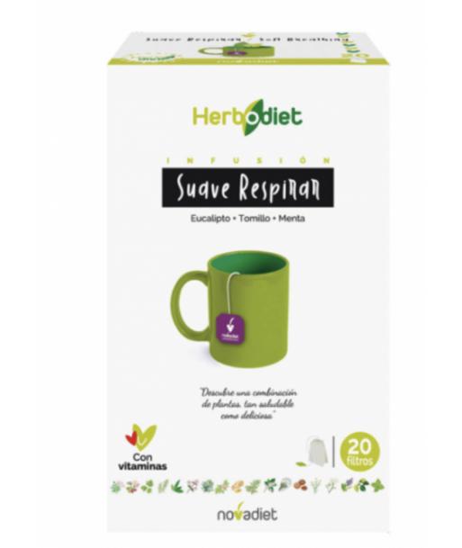 Herbodiet Suave respirar infusión 20 filtros (Novadiet)