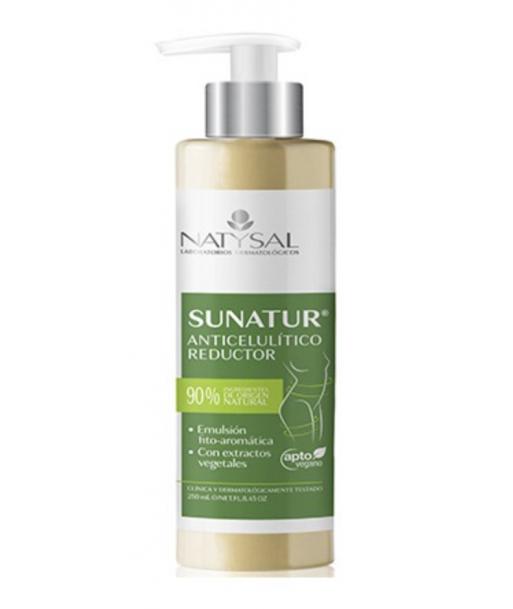 Sunatur crema reductora anticelulítica de 300ml (Natysal)