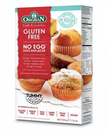 No egg gluten free de 200gr (Orgran)