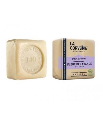 Jabón en pastilla Lavanda Bio 100 gr  (La Corvette)