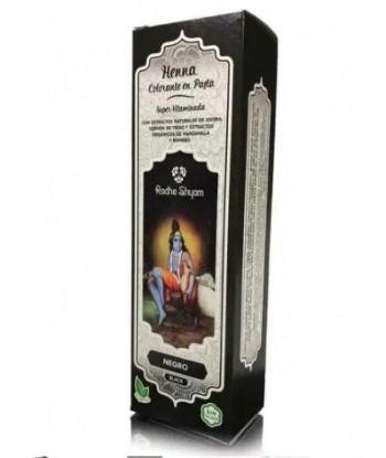 Henna Pasta 200ml Negro de Radhe Shyam