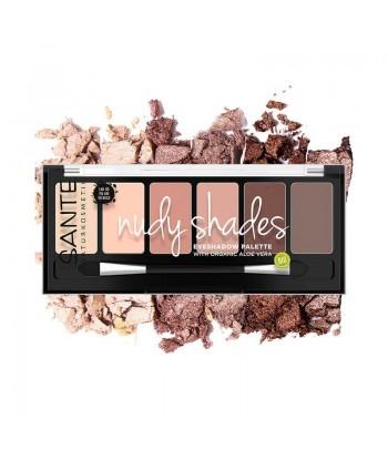 Sombra de Ojos paleta de 6 colores nude (Santé)