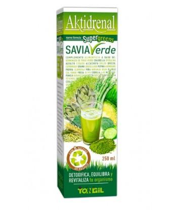 Aktidrenal Savia Verde 250 ml de Tongil